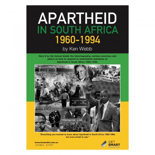 Apartheid in South Africa 1960-1994 – Year 12 Modern By Ken Web